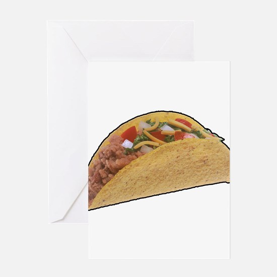 Taco - Food - Mexican Greeting Card
