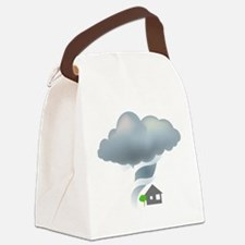 Tornado - Weather - Storm Canvas Lunch Bag