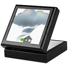 Tornado - Weather - Storm Keepsake Box