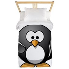 Waving Penguin Twin Duvet