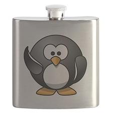 Waving Penguin Flask