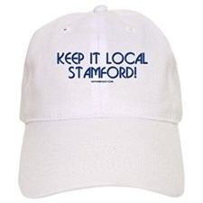 What's on the Menu? Keep it Local Stamford Baseball Cap