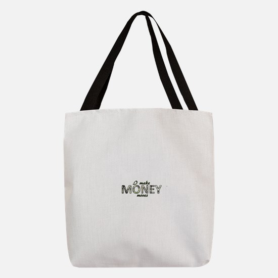 Money Moves Polyester Tote Bag