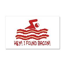 I found Bacon! Car Magnet 20 x 12