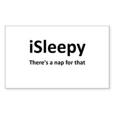 iSleepy Nap Decal