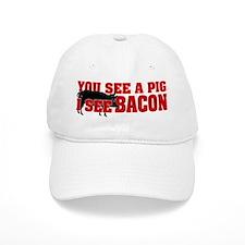 Pig or Bacon? Baseball Cap
