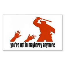 Mayberry Rectangle Decal