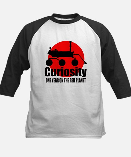 Curiosity one year on the red planet Tee