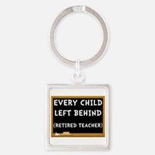 Retired Teacher Keychains