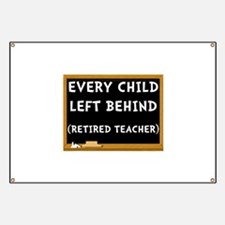 Retired Teacher Banner