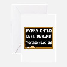 Retired Teacher Greeting Cards (Pk of 20)
