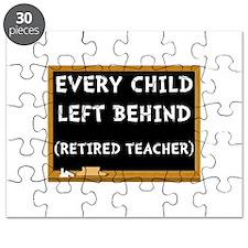Retired Teacher Puzzle