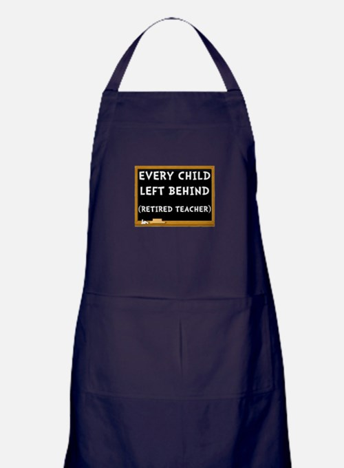 Retired Teacher Apron (dark)