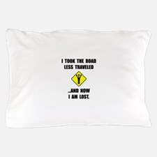 Road Less Traveled Pillow Case