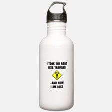 Road Less Traveled Water Bottle