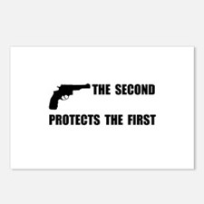 Second Protects First Postcards (Package of 8)