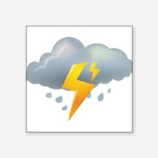 Storm - Weather - Lightning Sticker