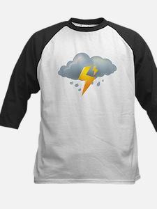 Storm - Weather - Lightning Baseball Jersey
