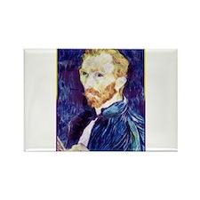 Vincent van Gogh - Art - Artist Rectangle Magnet
