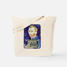 Vincent van Gogh - Art - Quote Tote Bag
