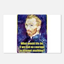 Vincent van Gogh - Art - Quote Postcards (Package