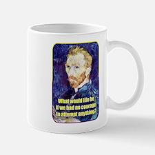 Vincent van Gogh - Art - Quote Mug
