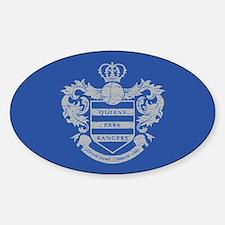 Queens Park Rangers Crest Sticker (Oval)