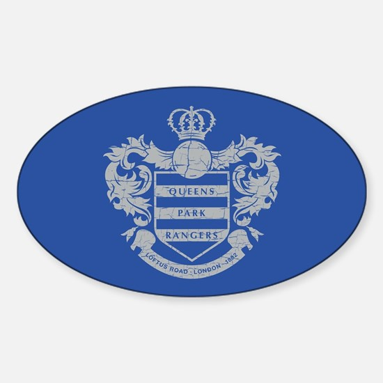 Queens Park Rangers Crest Sticker (Oval)