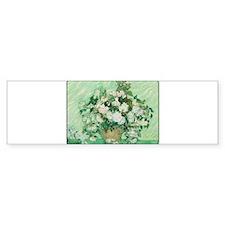 Vincent van Gogh - Art - Roses Bumper Bumper Sticker