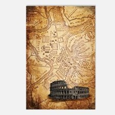 All Roads Lead to Rome Postcards (Package of 8)