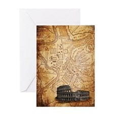 All Roads Lead to Rome Greeting Card