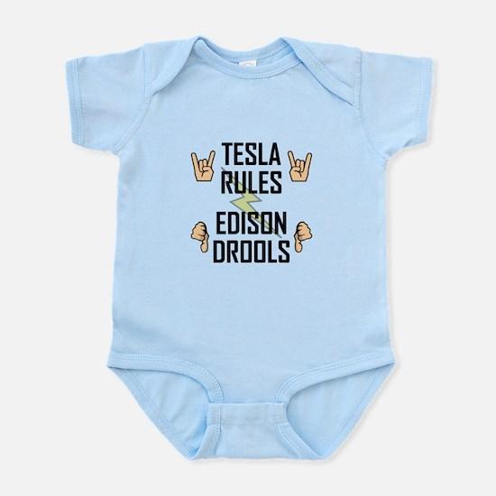 Tesla Rules Body Suit