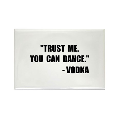 Vodka Dance Rectangle Magnet (10 pack)