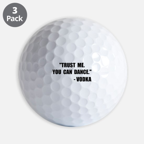 Vodka Dance Golf Ball