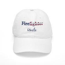 Firefighter Uncle Baseball Cap