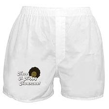 Have a Nappy Kwanzaa! Boxer Shorts