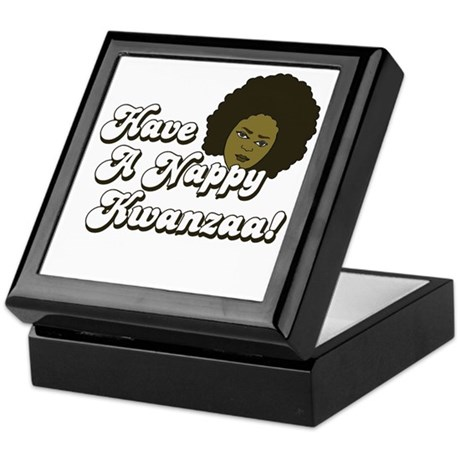 Have a Nappy Kwanzaa! Keepsake Box
