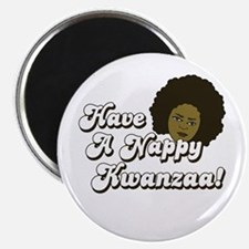 Have a Nappy Kwanzaa! Magnet