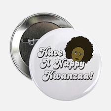 Have a Nappy Kwanzaa! Button