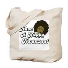 Have a Nappy Kwanzaa! Tote Bag