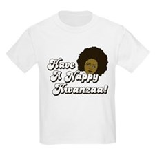 Have a Nappy Kwanzaa! Kids T-Shirt