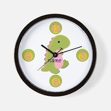 Customized Dinosaur Wall Clock