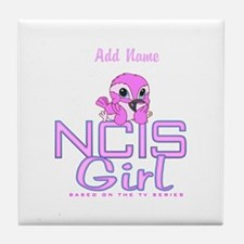 Personalized NCIS Girl Tile Coaster