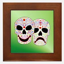 Comitragic DODT Skulls Framed Tile