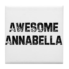 Awesome Annabella Tile Coaster