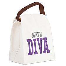Math DIVA Canvas Lunch Bag