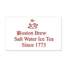 Boston Brew Rectangle Car Magnet