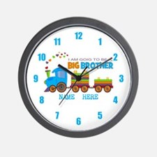 Big Brother Train Wall Clock