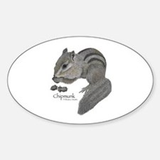 Chipmunk Decal