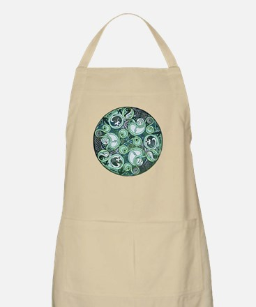 Celtic Stormy Sea Mandala Apron